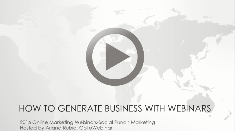 How to Generate New Business with GoToWebinar