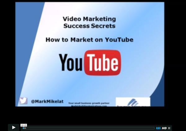 YouTube and Video Marketing with Mark Mikelat
